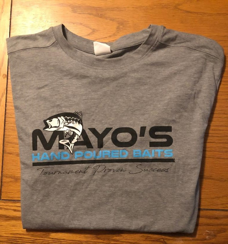 Mayo's Hand Poures Bait Shirts