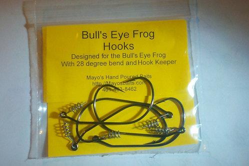 Rigging Hooks for Bull's Eyed Frog and Swim Bait  (5 pack)