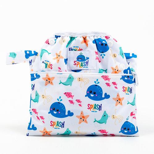 Bañador evolutivo + Bolsa porta bañador impermeable (Pack)