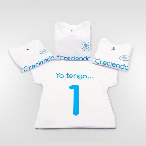 """Camiseta infantil """"Creciendo Juntos"""""""