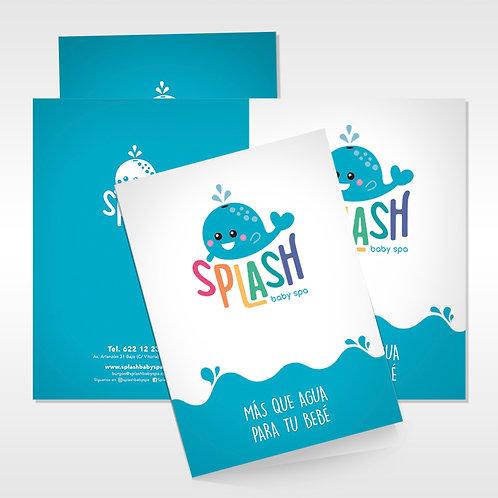 Carpetas Splash Baby Spa