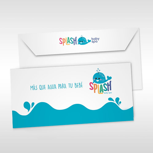 Sobres Splash Baby Spa