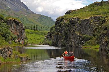 Canoeing Delta Wild and Scenic River, Al