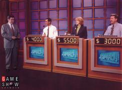 Russ hosts Jeopardy!