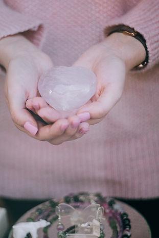Canva - Person Holding Heart Shape Stone