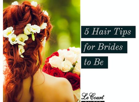 5 Hair Tips for Brides To Be