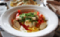 Pasta mit Hähnchen und Paprika