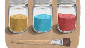STORY: Your Pigments Do No Good in their Jars