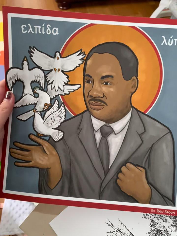 MLK Print from Mpix