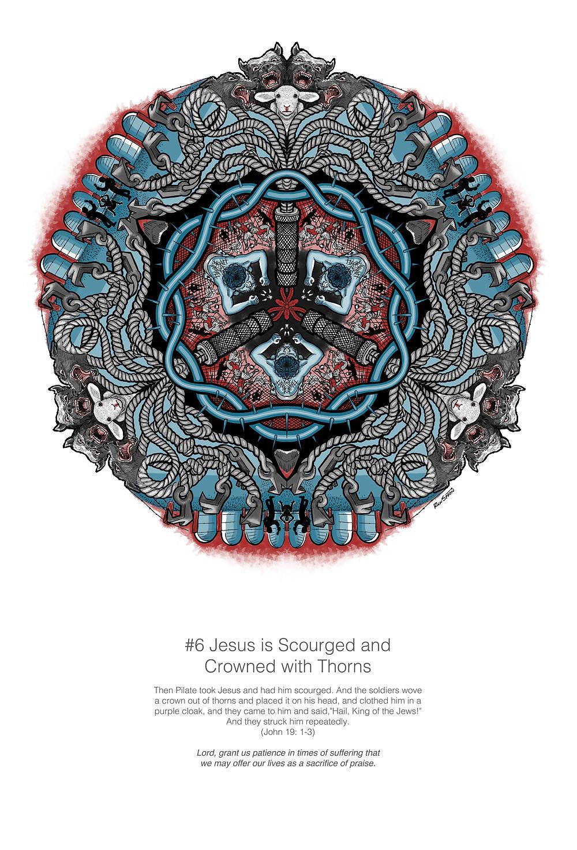 Designed with Photoshop, with mandala symmetry enabled