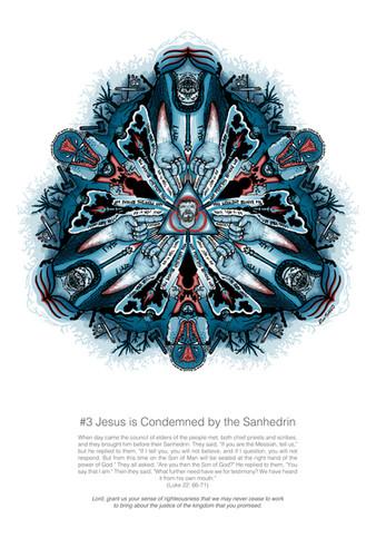 Mandala Station 3- Jesus Condemned by Sa