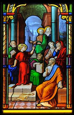 Ⅸ.少年耶穌與經師論道