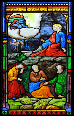 ⅩⅢ.耶穌在山園祈禱