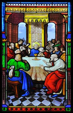 ⅩⅡ.耶穌的最後晚餐