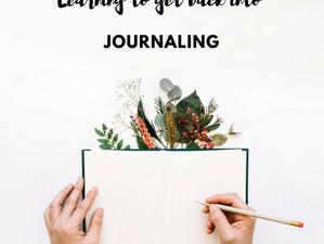 Rediscovering Journaling