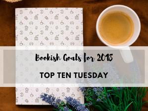 Bookish Goals 2018 | Top Ten Tuesday