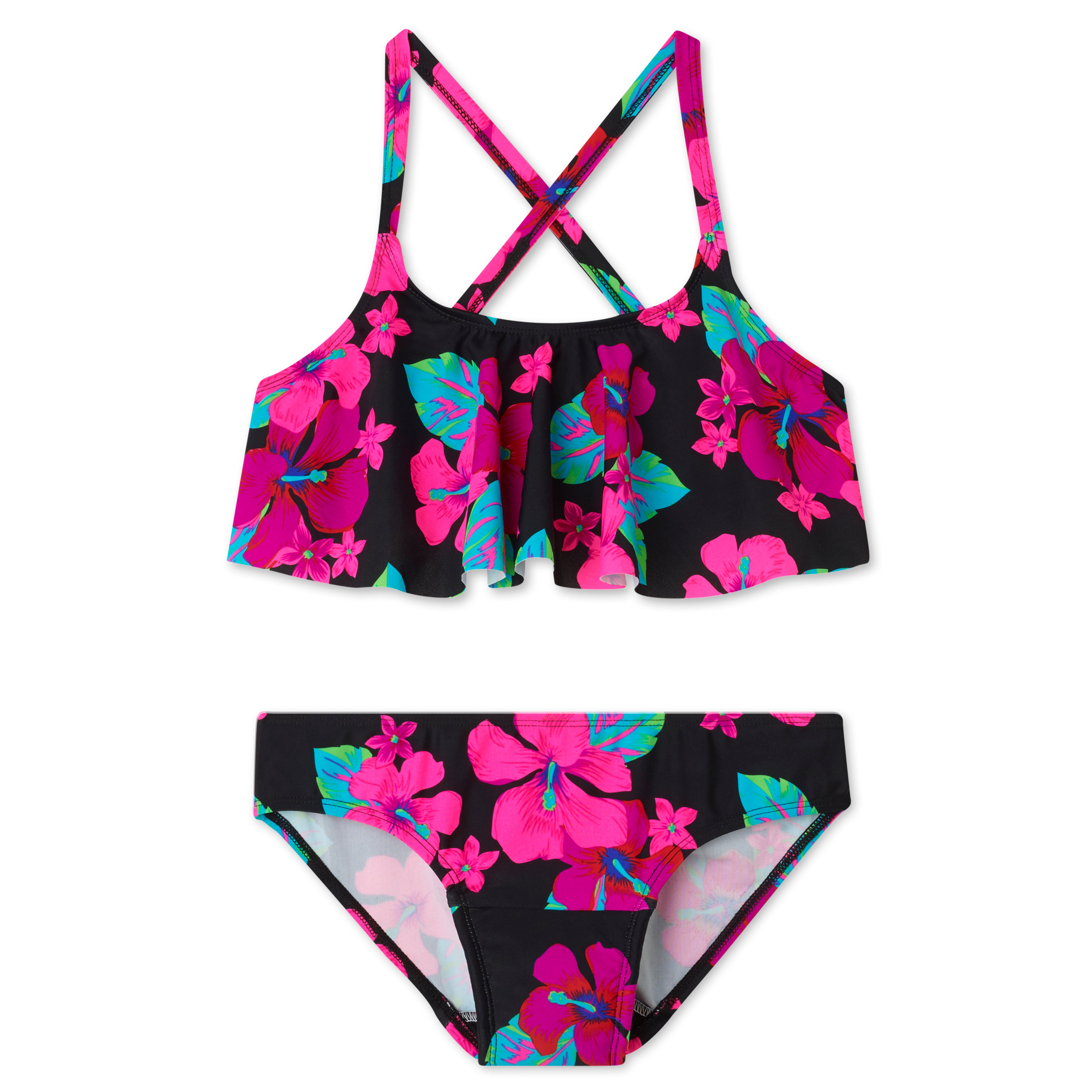 c76df8644 Swim and surf worry-free and in style with our Ruffle Two Piece Period  Swimsuit featuring Ruby Love's leak-proof technology, so you can swim,  paddleboard, ...