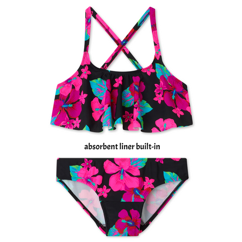 cb5d38fb91b Period Swimwear Two Piece Ruffle Bloom Period Swimwear Two Piece Ruffle  Bloom with details