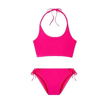 Teen Period Swimwear  Tank Set   Pink Sand