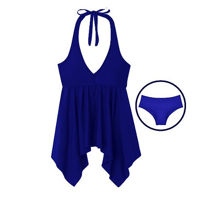 Teen Period Swimwear Tankini Set | Blue Waters