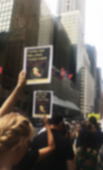 Families Belong Together Immigration March in New York City 2018