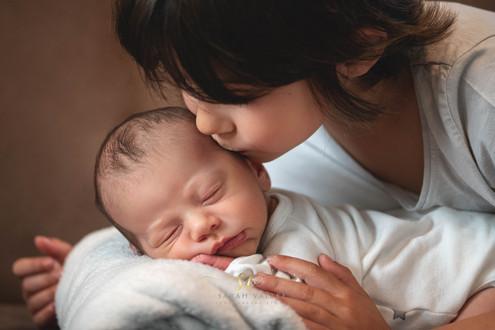 Portrait de bébé à domicile