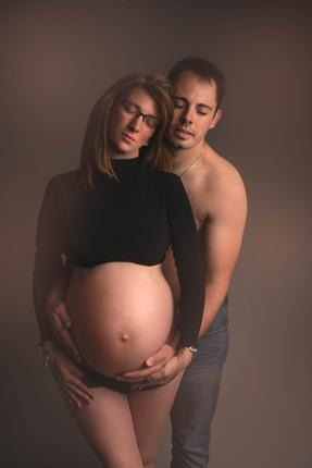 Souvenir de grossesse en couple Belgique