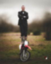 séance photos homme moto sport