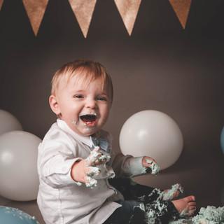 photographie smash the cake
