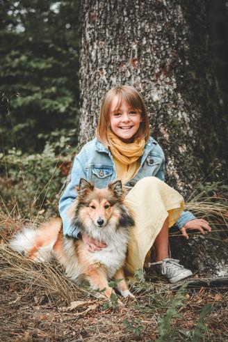 Photographe enfant nature Belgique