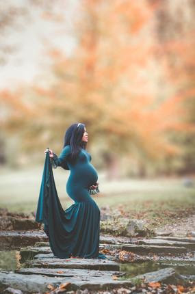 Robe de grossesse séance photos