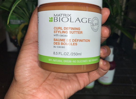 Biolage Raw Curl defining butter