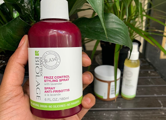 Biolage Raw Frizz control spray