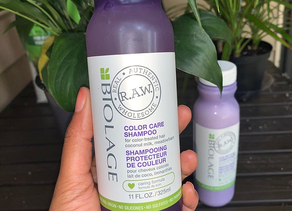 Biolage raw color care shampoo