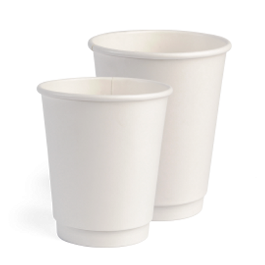 White Matte Double Wall Smart Cup