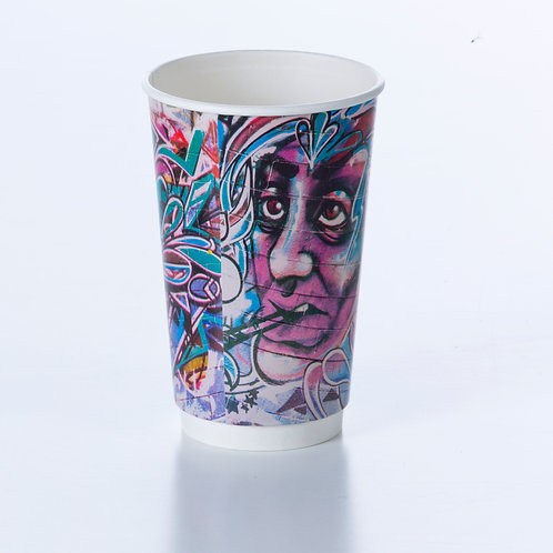 Graffiti Double Wall Cups
