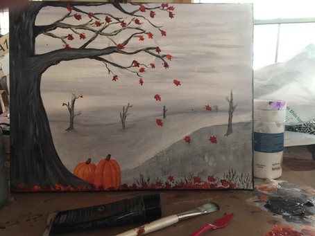 Paint and Sip Night August