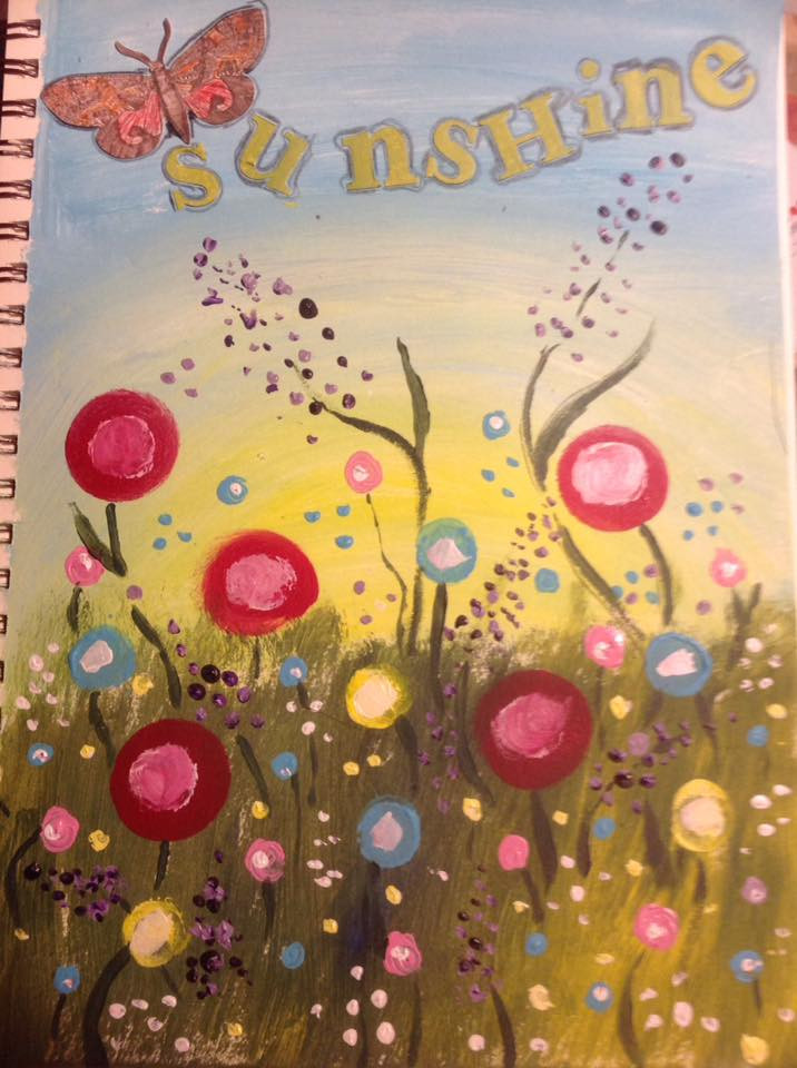 Art journaling-A nickname you liked.