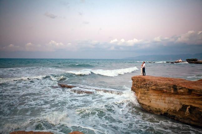 Толя и Вера на Крите и Санторини