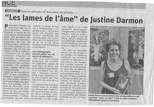 Article J darmon Le Dauphiné Libéré.jpg