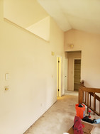 Interior Repaint Before and After