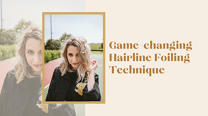 Game-changing Hairline Foiling Technique