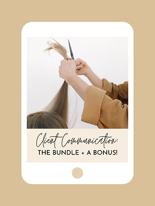 Client Communication: The Bundle + Bonus!