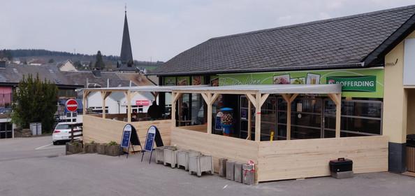Extension de terrasse sur mesure - planc