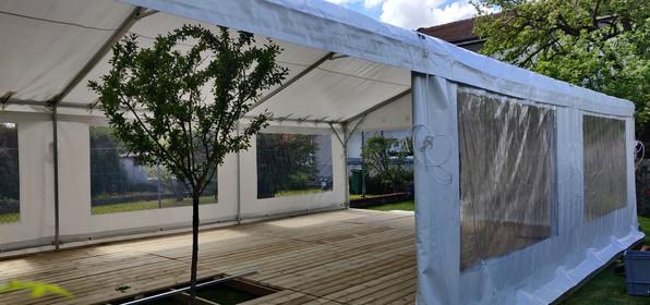 Tente de réception 6 x 10 mètres avec pl