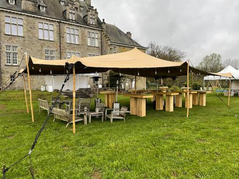 Tente Stretch & mobilier Holtz