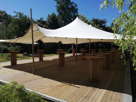 Tente stretch plancher & mobilier