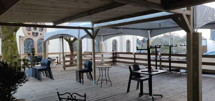 Extension de terrasse & pagode