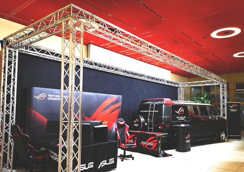 Stands au Luxembourg Gaming Xperiences