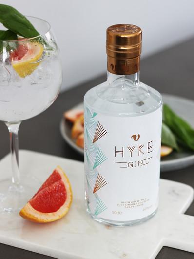 Hyke Gin Grapefruit G&T Content